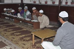 The school education department has identified 13 government schools in the state as the centres to conduct the madrasa board examination.