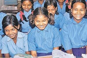 Out of 16.2 lakh out-of-school girls across India, 56,936  are from...