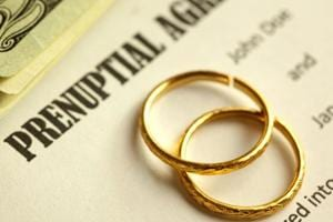 Prenuptial agreement is common in western countries, where couples enter into a contract before marriage.