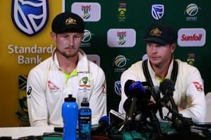 After Cameron Bancroft and Steve Smith's admission of having tampered...