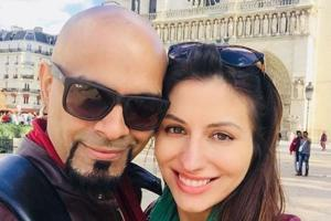Raghu Ram posts picture with his Canadian girlfriend on their one-year...
