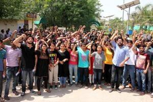 Bathinda central varsity students seek action against prof for casting...