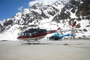The government officials suggested that the companies with less than three copters should work as a group.