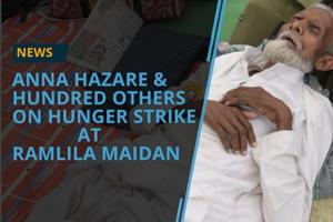 Social activist Anna Hazare is observing an indefinite hunger strike....