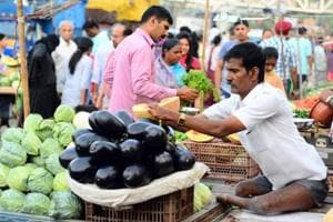 Selling vegetables at a market near Vishranthwadi, Alandi road, Ghogare married, raised a family with his wife Sushila Ghogare, who is also differently-abled, and educated both his sons.