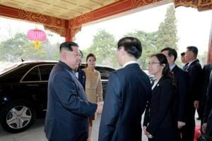 Xi's backing will add to Kim's confidence
