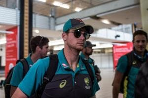 Steve Smith and opening batsman Cameron Bancroft, the player caught on...