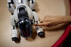 Photos: Japan looks to robots as the future of elderly care