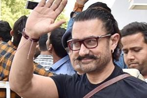 Aamir Khan arrives in Jodhpur to shoot for his upcoming film Thugs of Hindostan.