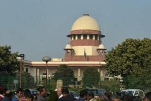 A view of Supreme Court of India in New Delhi.