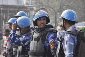 The Bihar government deployed paramilitary and Rapid Action Force personnel to tackle the unrest that broke out during this year's Ram Navami celebrations.