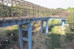 The under-construction skywalk in Kalyan (East) will be completed in two months, said civic official.