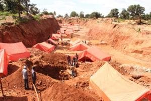 Photos: Congo races to fix artisanal mining problem against...