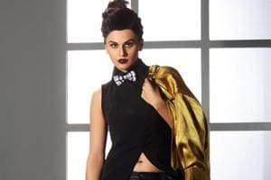Taapsee Pannu is currently shooting for her next film, Manmarziyan.