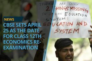 The Central Board of Secondary Education (CBSE) has set set April 25...