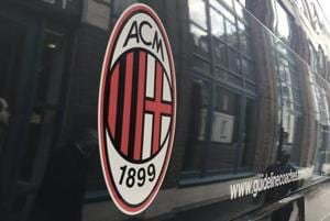 AC Milan staff bus attacked before Serie A derby vs Juventus