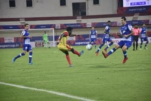 Bengaluru FC beat Gokulam Kerala FC to enter the Super Cup last eight.