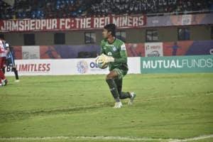Jamshedpur FC goalkeeper Sanjiban Ghosh helped them defeat Minerva Punjab in Super Cup.
