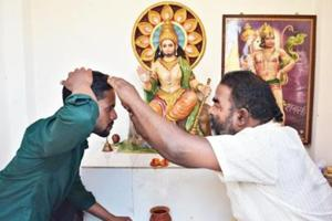 Muslim youth refurbishes Hanuman temple in Bengal