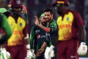 Pakistan humble West Indies again in 2nd T20 to clinch three-match...