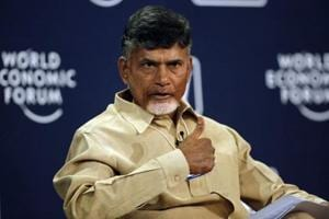 N. Chandrababu Naidu, chief minister of Andhra Pradesh insists he is not looking for a role in national politics.