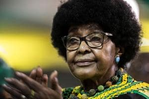 South African anti-apartheid campaigner Winnie Mandela dies at 81