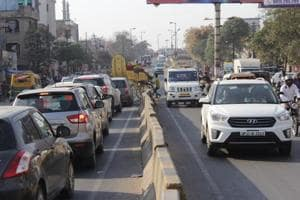 The project is to connect Ghanta Ghar to Bhatia Morh, one of the most congested routes in Ghaziabad