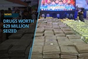 Thai authorities have seized drugs worth about 29 million US dollars....