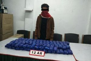 Assam Rifles seizes Rs 16 crore worth World is Yours drug consignment...