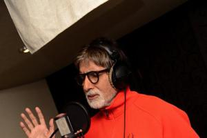 Amitabh Bachchan records song for 102 Not Out despite medical...