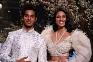 Shahid Kapoor's brother Ishaan Khatter walks the ramp with Beyond the...