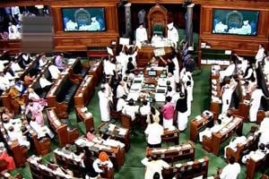 Lok Sabha proceedings disrupted for 19th straight day