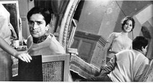 Shakespeare in India: Shashi Kapoor and Felicity Kendal on the sets of Shakespeare-Wallah in 1965.
