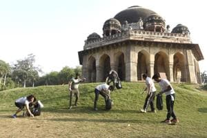 Plogging, the latest fitness craze hits Delhi