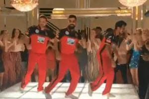 Virat Kohli, Brendon McCullum, Yuzvendra Chahal get into the groove...