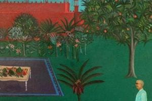Modern artist Bhupen Khakhar's works are all about everyday life...