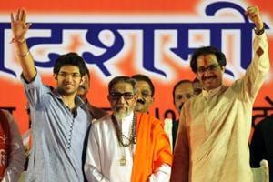 Is Aaditya emerging as new face of Shiv Sena?