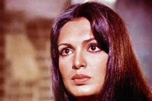 Parveen Babi, alongwith ZeenatAman, was among the top-billed actresses of the 1970s.