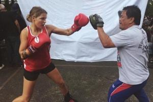 Australian boxer gifted first medal of Commonwealth Games without a...