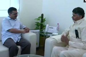 Chandrababu Naidu meets Kejriwal amid attempts to garner support for...