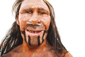 Our ancestors had bigger noses to help them breathe better. They...