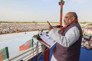 Amit Shah slams oppn parties for backing Bharat Bandh, says BJP all...