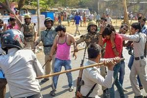 Police book man seen firing pistol during Dalit protests in Gwalior