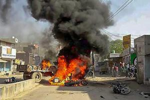 Dalit protests: Normalcy returns to Rajasthan's Hindaun but curfew...