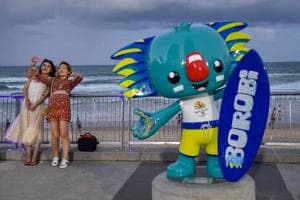 The 2018 Commonwealth Games were officially opened in the Gold Coast...