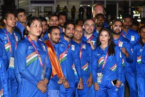 Prime Minister Narendra Modi wishes Indian contingent luck for...