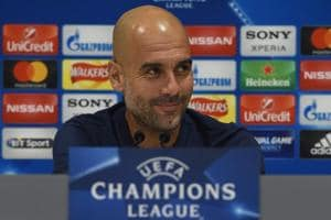 Manchester City boss Pep Guardiola vows to attack Liverpool at Anfield