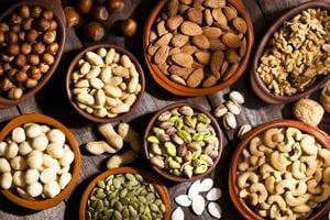 Snack on dry fruits: Protein from nuts and seeds could be good for...