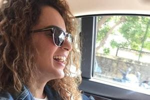 Kangana Ranaut shares a hearty laugh and a matching dress with nephew...