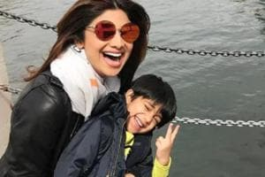 Tiger Shroff has competition: Shilpa Shetty's son dances to Baaghi 2...